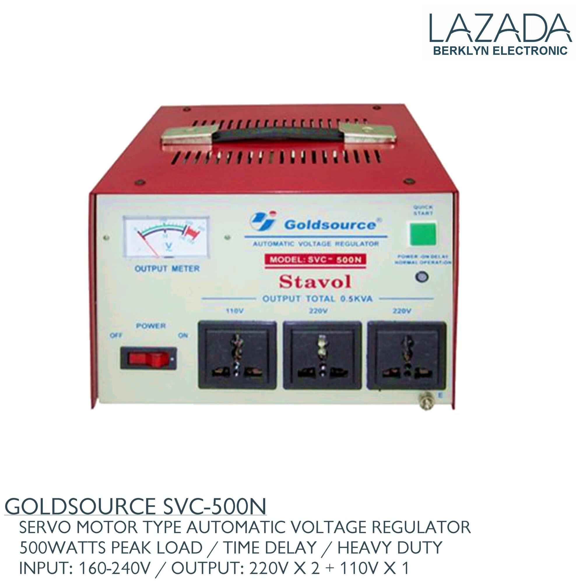 Goldsource Philippines Price List Power Supply For Regulated 220vac To 24vdc Using Voltage Regulator Svc 500n Servo Motor Type Automatic With Time Delay 500 Watts