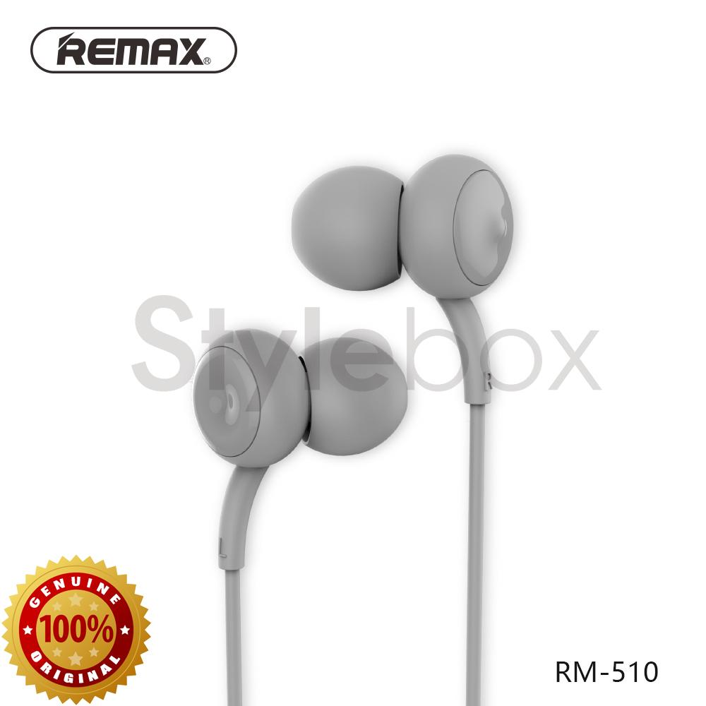 Remax RM-510 Super Bass In-Ear Stereo Touch Music Wired EarPhone
