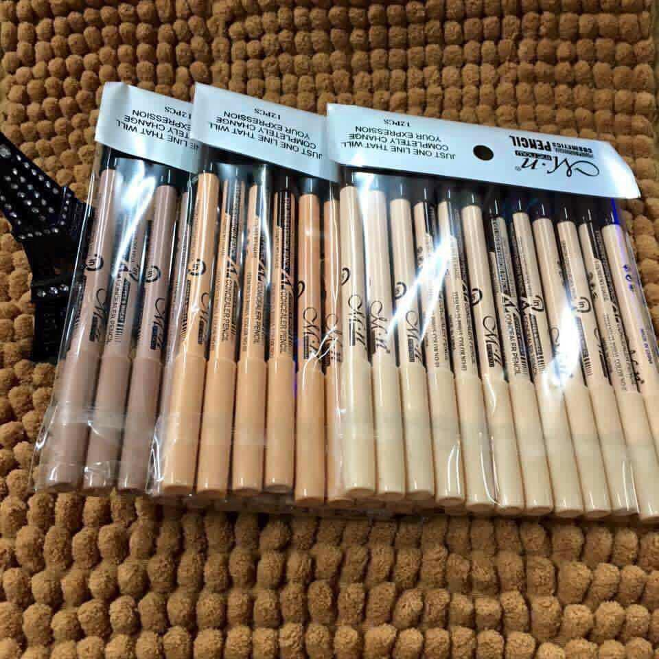 12pcs 2in1 CONCEALER AND EYEBROW PENCIL SET Philippines