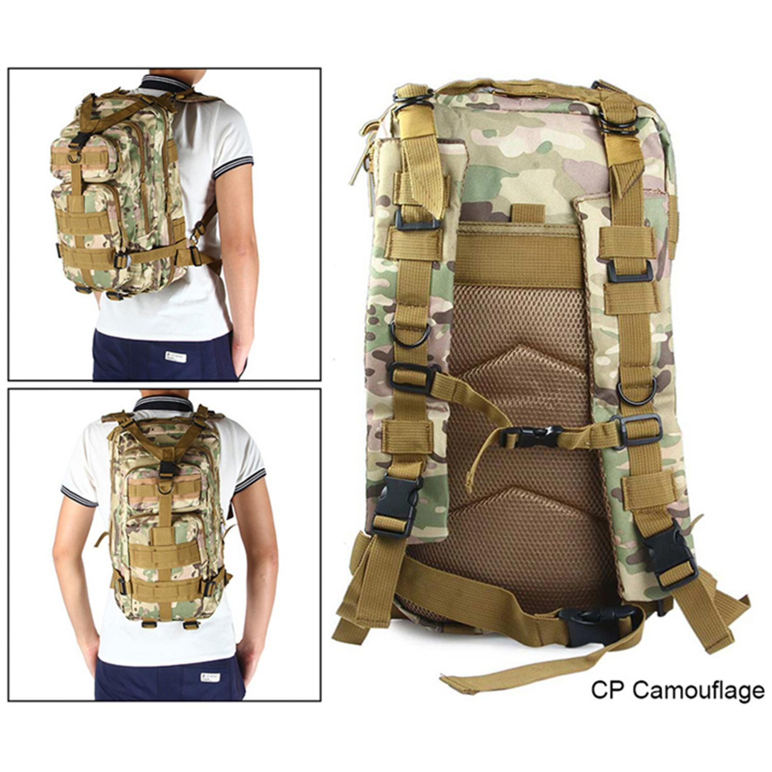 25l Military Bag Army Tactical Outdoor Camping Backpack Oxford For Cycling Hiking Sports Climbing Bag By Happy Tree.