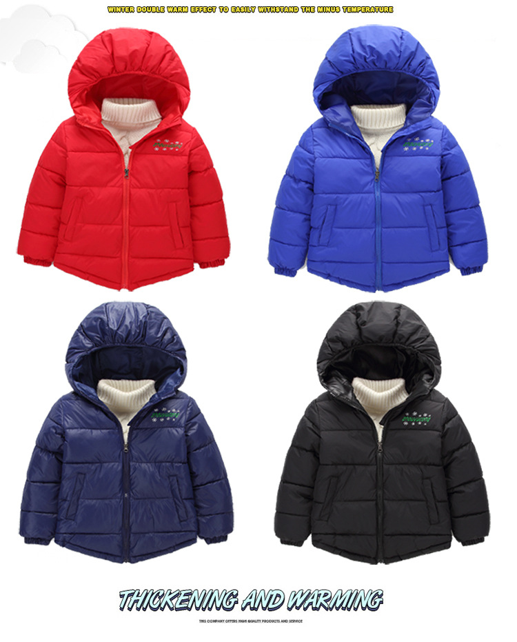 828b89440 Specifications of Thick Velvet Kids Girls Boys Winter Coat Warm Children's  Winter Jackets Cotton Infant Clothing Padded Jacket Clothes