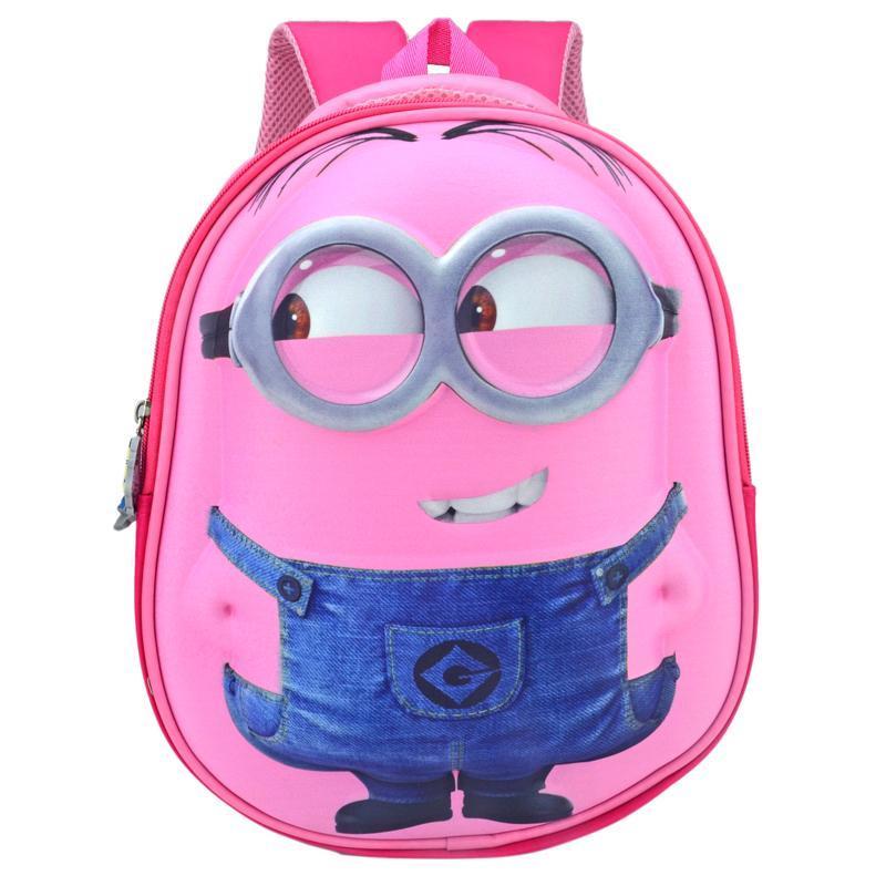 Small yellow people childrens school bags Sophia 1-3 grade school bags