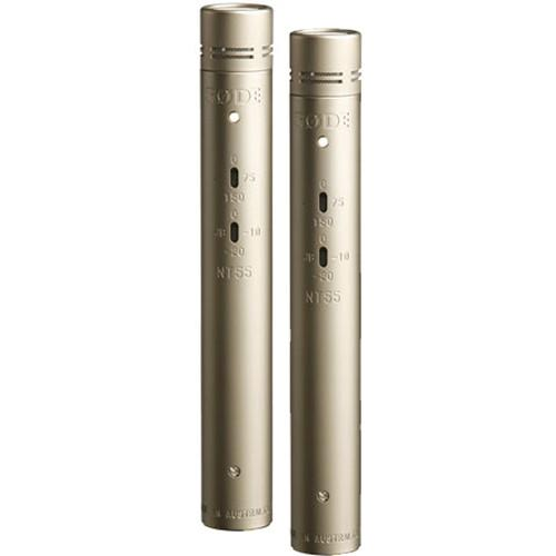 Rode NT55 Compact Condenser Microphone (Matched Pair)