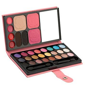 PU Leather 33 Color Professional Make Up Palette (Pink) Philippines