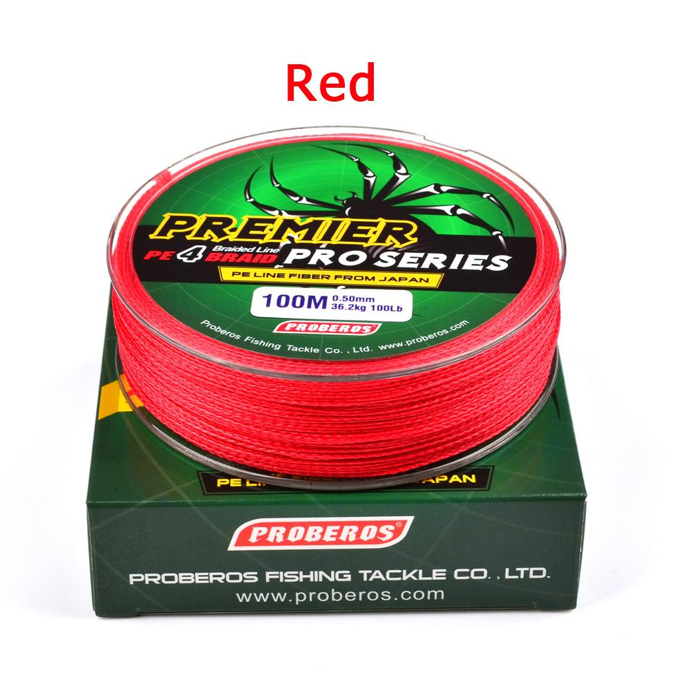 Super Strong Braided Wire Fishing Line Pe Material Multifilament Carp Fishing Rope Line 100m By Hhhappy Store.