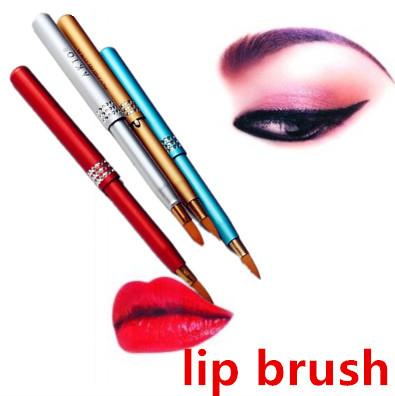 Portable Retractable Lip Eyeliner Brushes (Color May Vary) Philippines