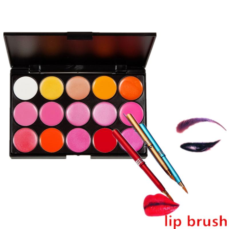 15 Colors Lipstick Palette WITH FREE Lip Brush Philippines