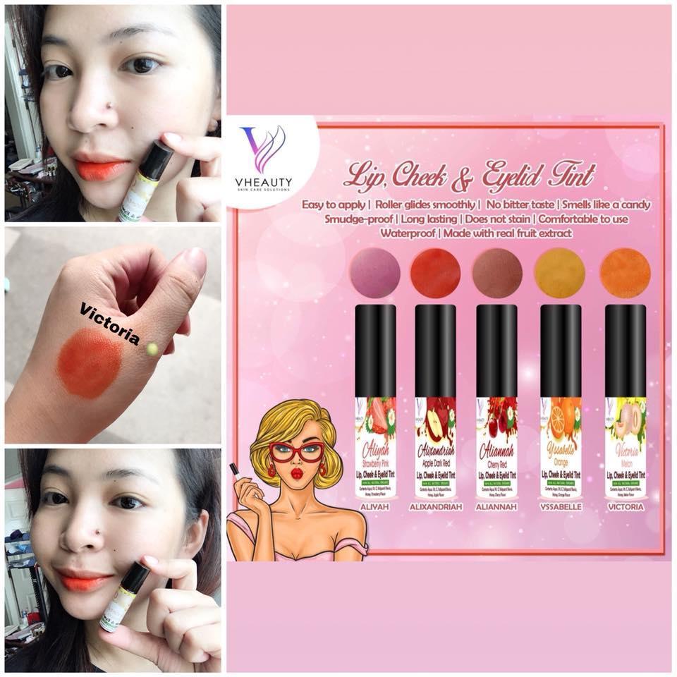 Organic Lip & Cheek Tint Long-Lasting Natural Finish Philippines