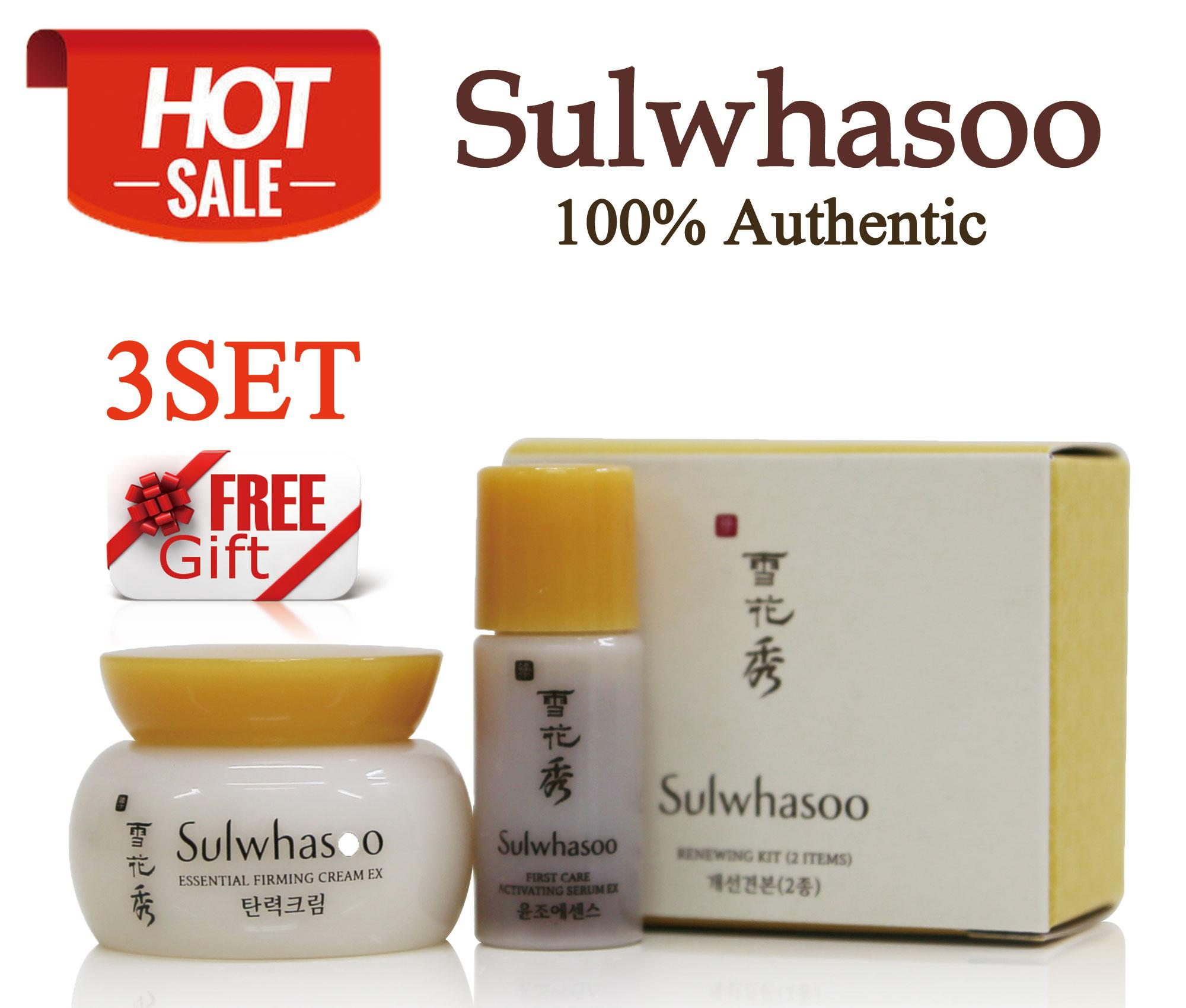 Sulwhasoo Philippines Price List Makeup Cosmetics Kit Time Treasure Renovating Cream Ex 8ml Renewing 2items X 3set