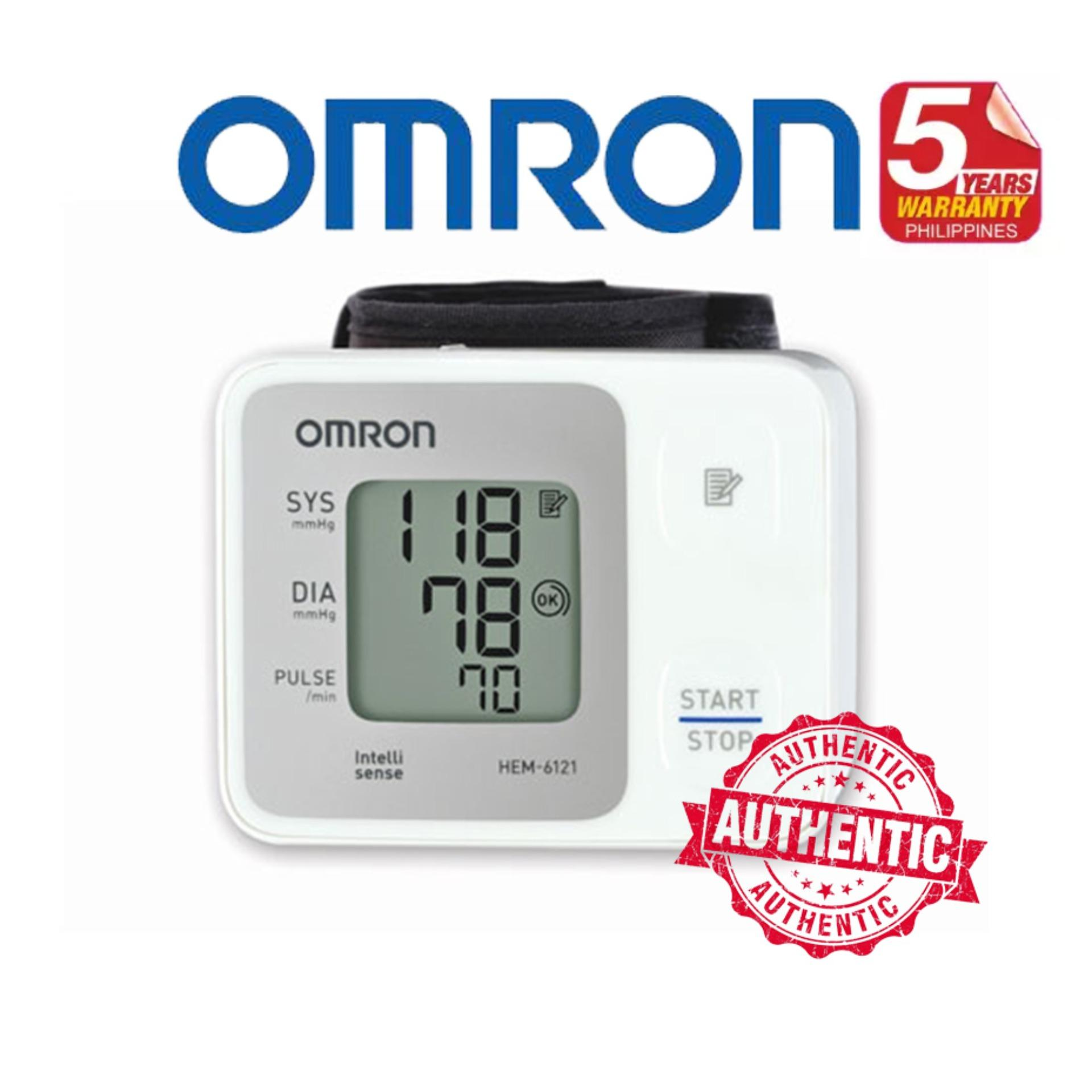 Omron Philippines Price List Health Care Electronics Hem 7211 Automatic Blood Pressure Monitor Wrist 6121 Bp App W 5 Years