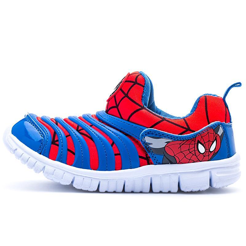 ... PINLI Ukuran 26-37 Sepatu Olahraga Anak-anak Ukuran Besar Sepatu  Bernapas Pedal Sepatu ... d8bf3e94d7