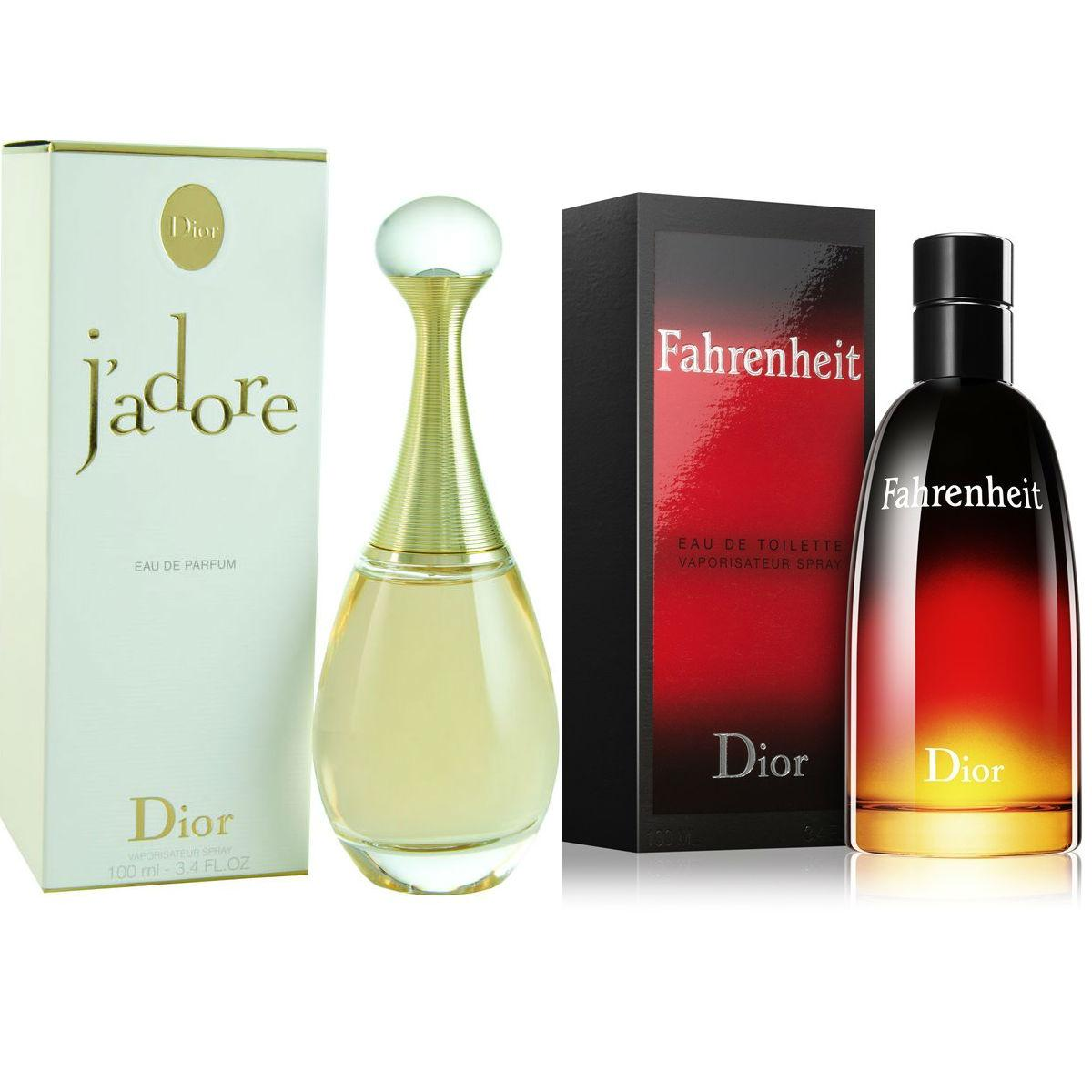 Dior J`Adore Eau De Parfum For Women 100ml And Dior Farenheit Eau De  Toilette 00956334d44