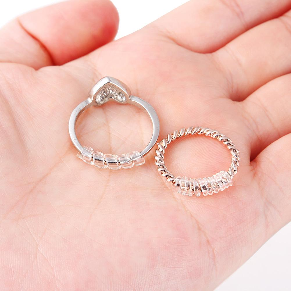 Pack of 14 Ring Size Adjuster Snuggies Ring Guard Ring Size Reducer ...