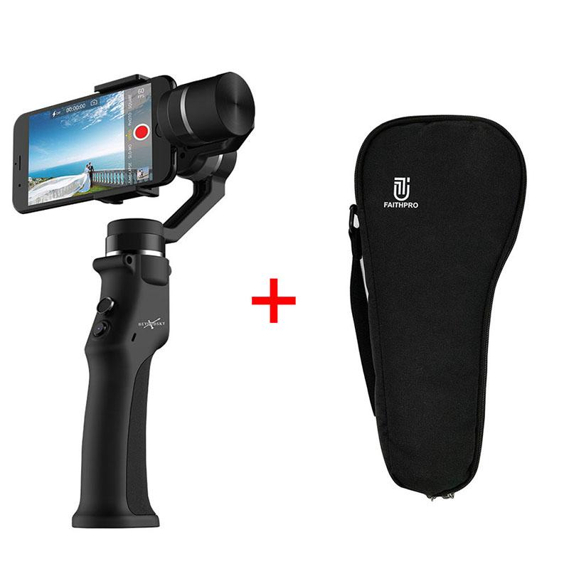 EYEMIND 3-Axis Handheld Smartphone Gimbal Stabilizer VS Zhiyun Smooth Q Model for iPhone X 8Plus 8 7 Android Sports Cameras - intl