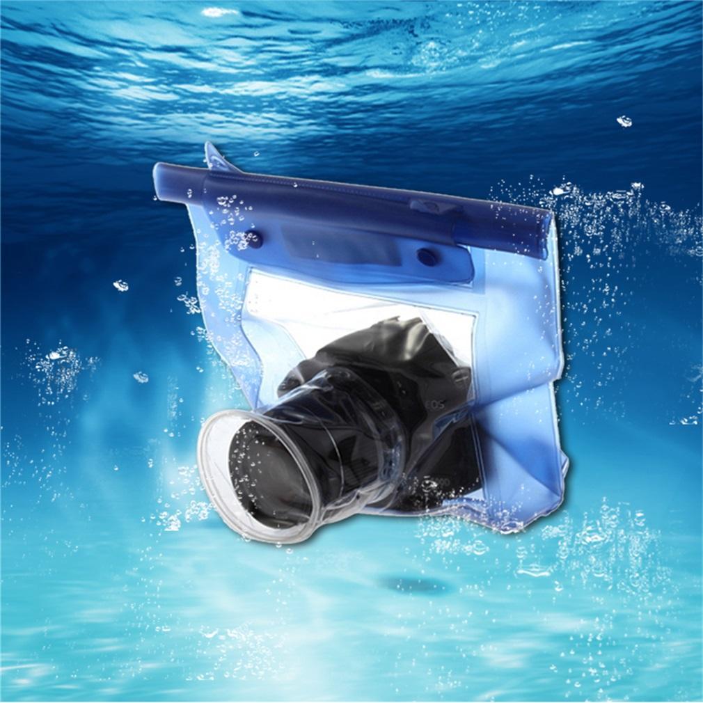 Rumah Bawah Air Tahan Air Kamera Tas Kering untuk Canon 5D/7D/450D/60D