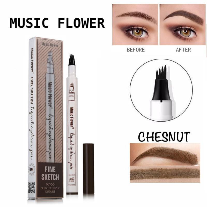 Music Flower Fine Microblading Eyebrow Pencil - (CHESNUT) Philippines