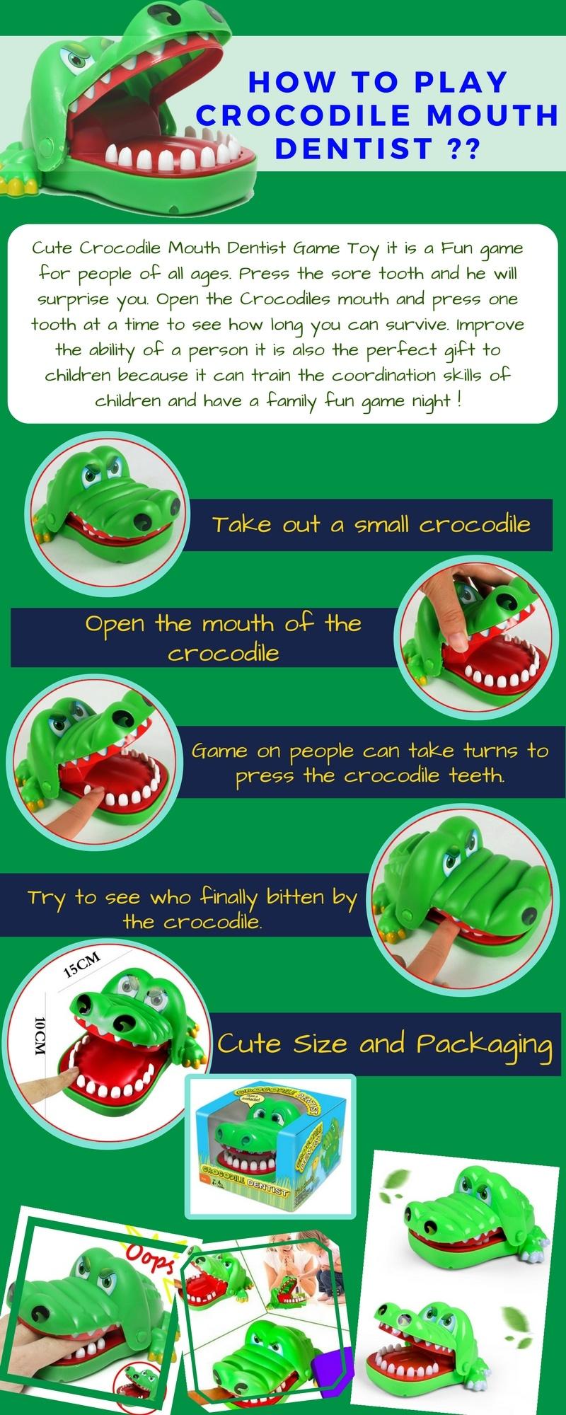 Specifications of Crocodile Dentist Bite Finger Game Buy 1 Take 1 0c20669506