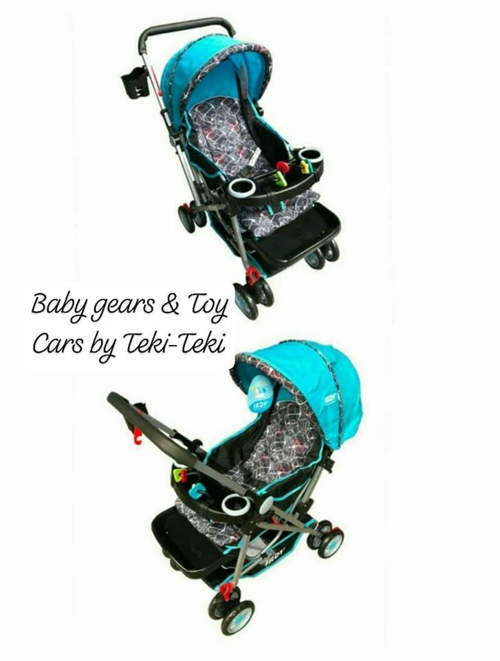 Irdy Stroller By Baby Gears And Toy Cars By Teki-Teki.