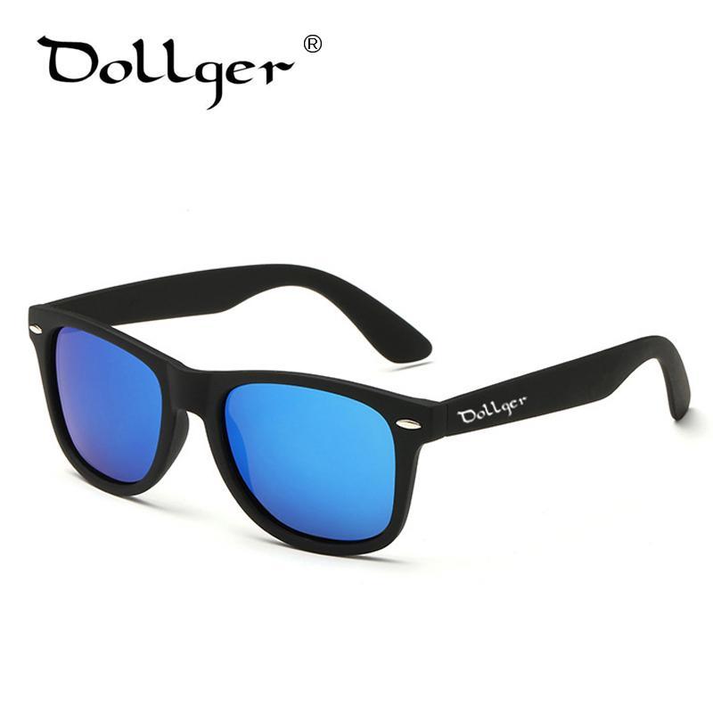 Dollger Antik Terpolarisasi Pria Kacamata Hitam Wanita Klasik Mewah Merek Desain Cermin Mengemudi Berjemur Kacamata untuk