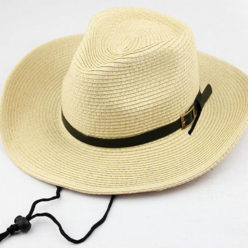Empat Musim Penjualan Besar Pria/Anak Besar Eave Topi Kerudung Topi Koboi Jerami Cap untuk Mendaki Gunung Hutan Di Pantai Ultraviolet bukti Topi Luar Ruangan Spesifikasi: dewasa Kode