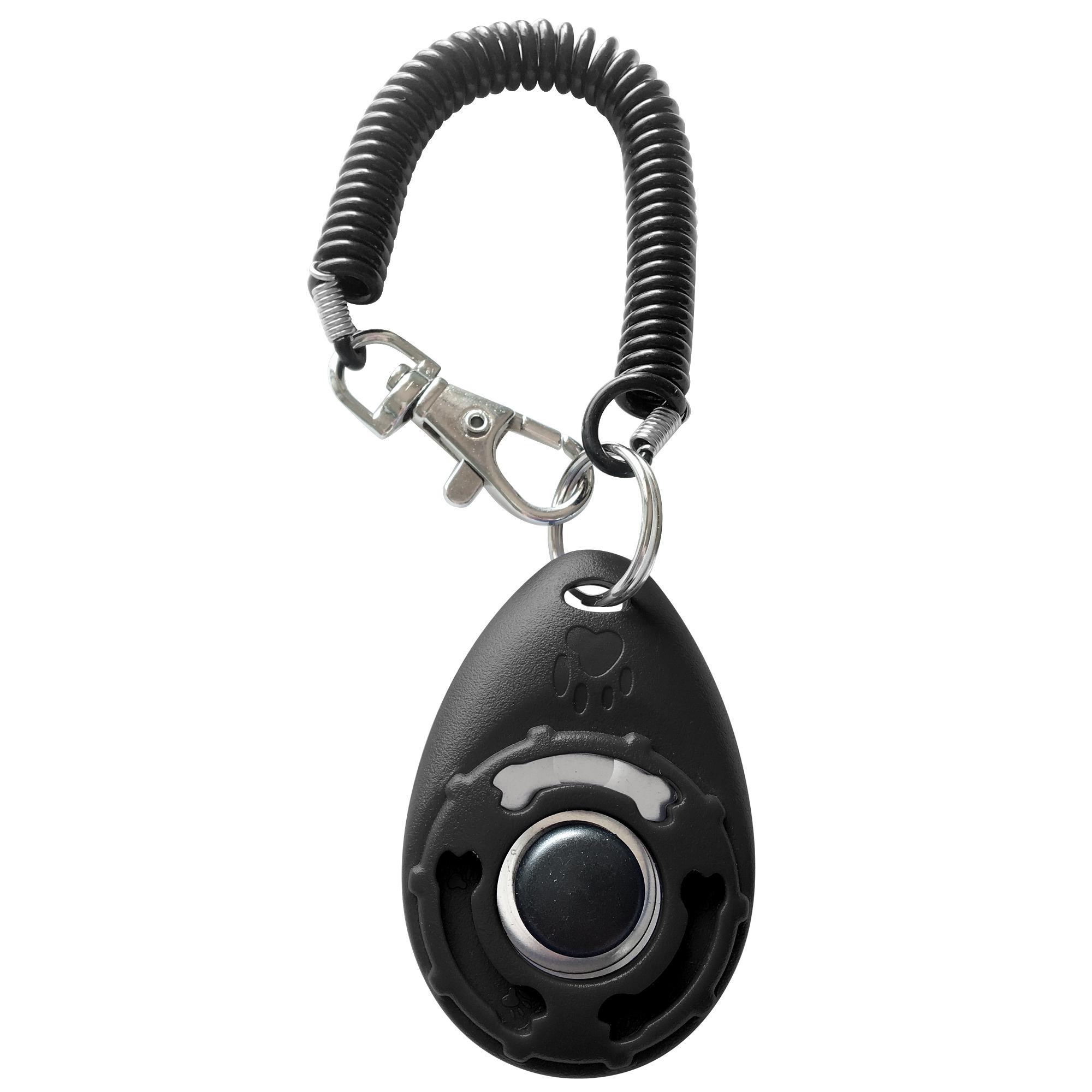 Posdou Pet Training Clicker with Wrist Strap - Dog Training Clicker - intl
