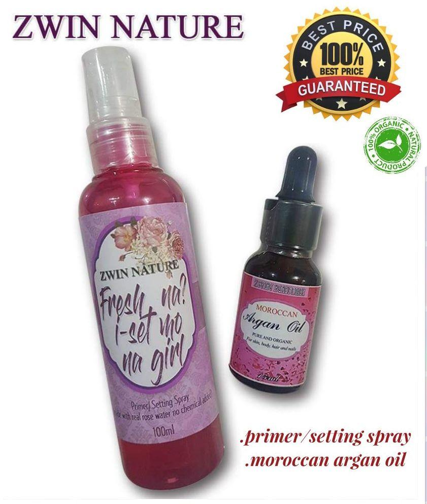 Moroccan Argan oil and Primer Setting spray Philippines
