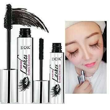 DDK 4D FIBER MASCARA Eyelash long extension (1 box comes with 1 mascara & 1 silk fiber) Philippines