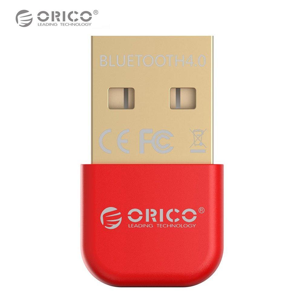 Orico Bta-403 Blueto*th Adapter Blueto*th 4.0 Usb Dongle Mini Csr Transmitter (Red)