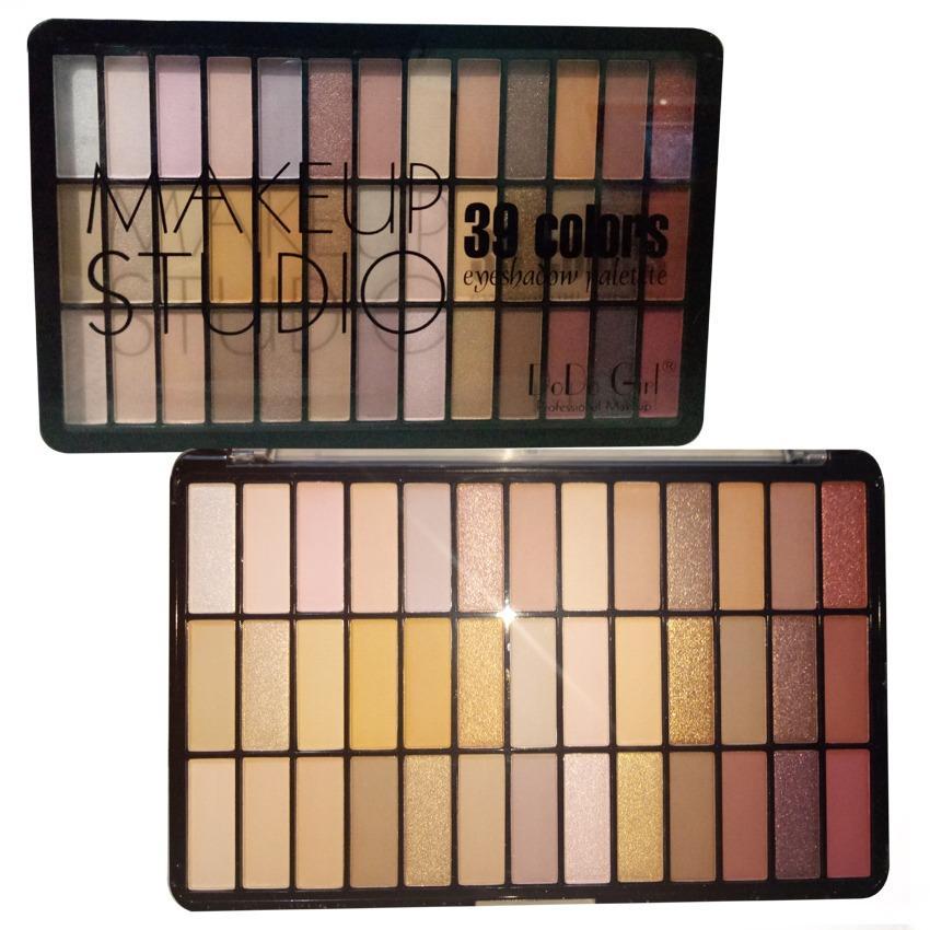 39 Colours Eyeshadow Eye Shadow Palette Makeup Studio Philippines
