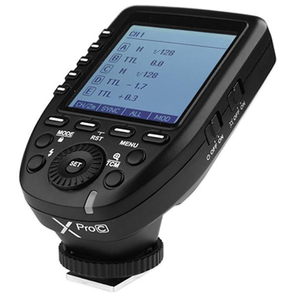 Godox XPro - C E-TTL 2.4G Wireless Trigger for Canon EOS Cameras