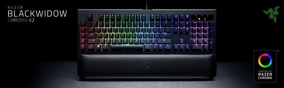 28dea63d806 Razer BlackWidow Chroma V2. The Razer BlackWidow mechanical gaming keyboard  ...