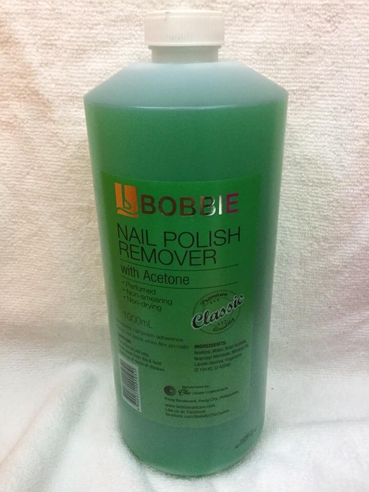 Bobbie acetone 1 liter Philippines