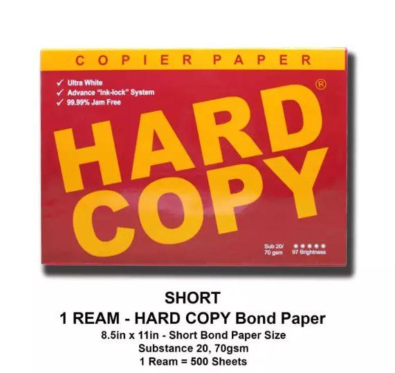 Copy paper for sale printer paper prices brands review in hard copy bond paper 1 ream short bond paper size 85x11 inches malvernweather Choice Image