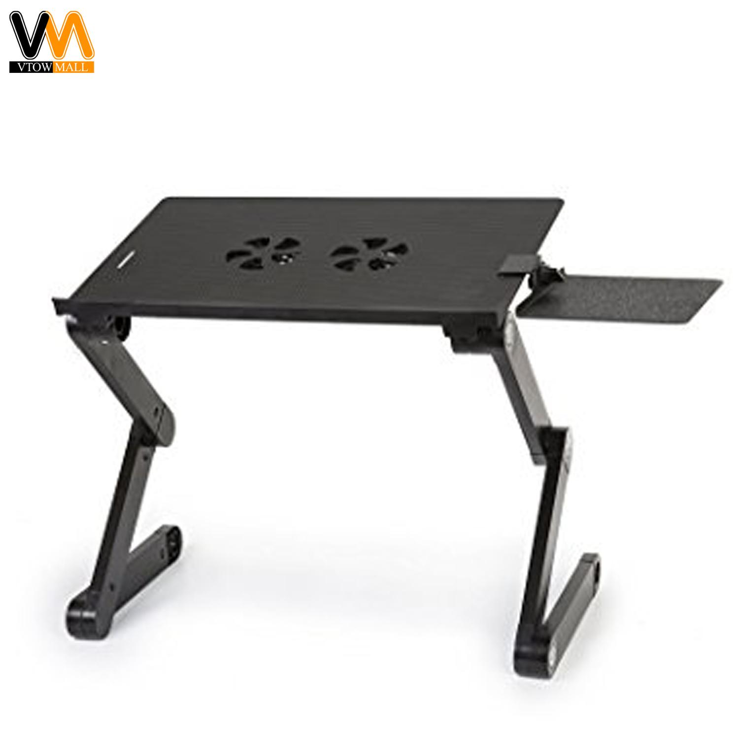 T8 Multi Functional And Foldable Laptop Table Black