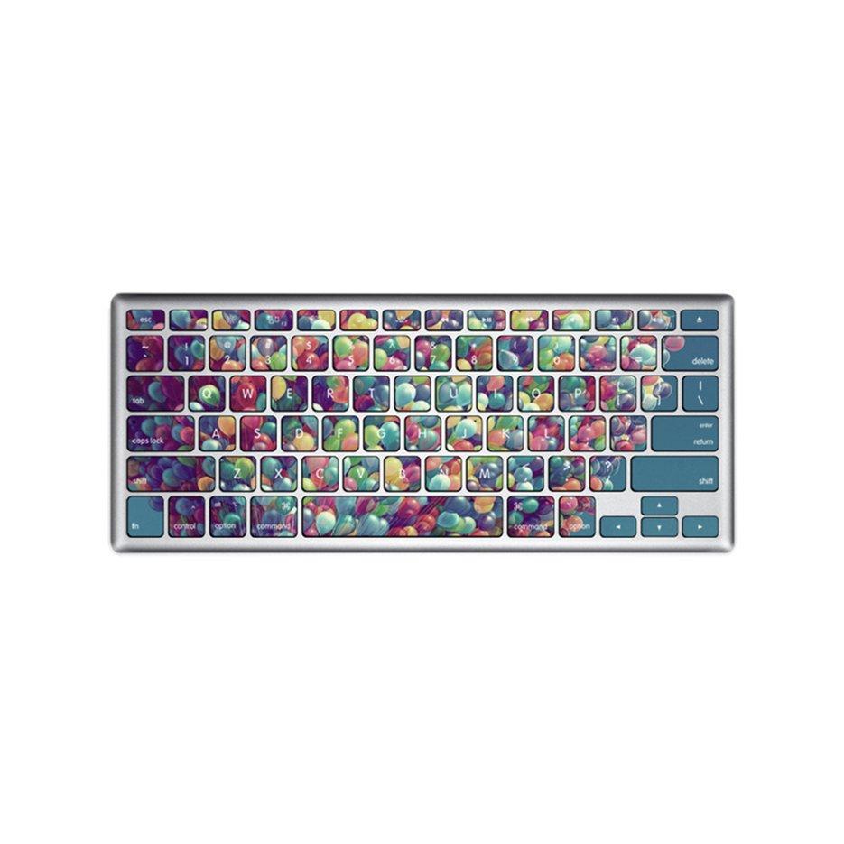 Hot Penjual Slim Keyboard Penuh Warna Flim Stiker Kulit Cocok untuk MACBOOK AIR 13 Inch