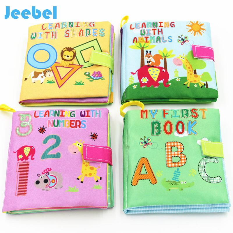 Baby Toys Soft Cloth Books Infant Educational Toy Newborn Toys Early Learning