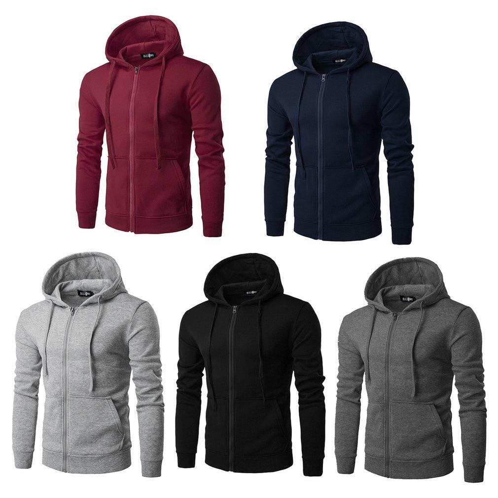 Popular Mens Hoodies For The Best Prices In Malaysia Jaket Sweater Supreme Hoodie Zipper Casual Solid Color Men Long Sleeve Sport Jacket Cardigans Hooded