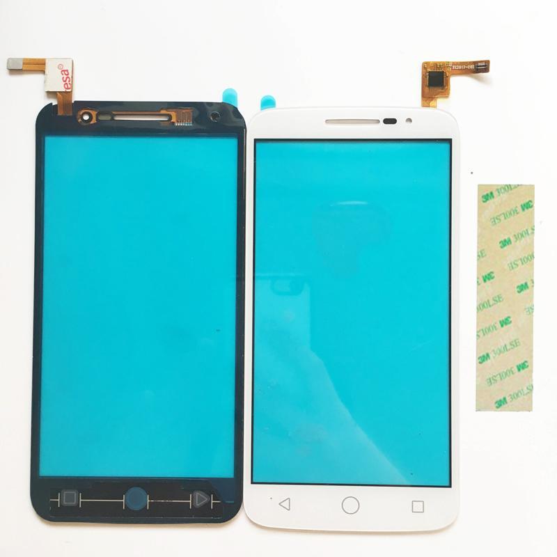 Untuk Alcatel Satu Sentuhan OT7043 Sentuh Layar Digitalisasi + Alat