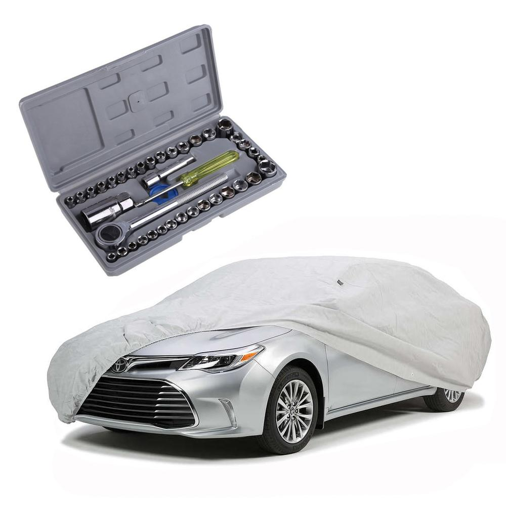 Car Covers For Sale Waterproof Cover Online Brands Prices Electrical Copper Wire Multicab Wiring 2 Lightweight Nylon Sedan Cars With 40 Pcs Repair Tools Maintainance Care