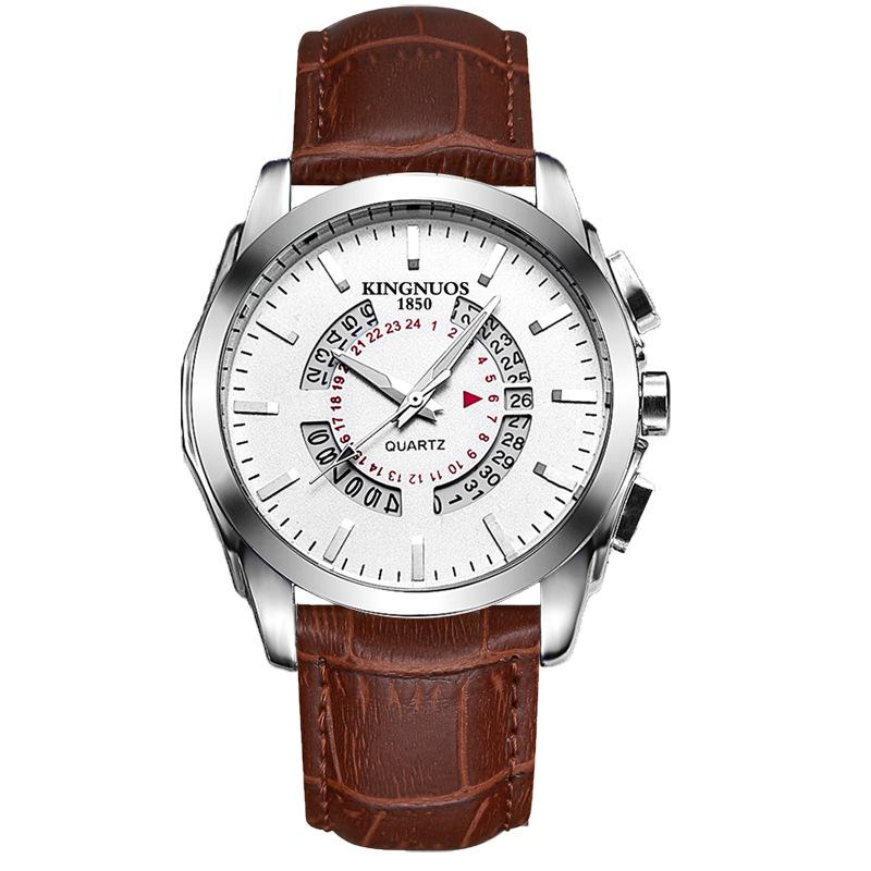 New fashion high quality mens quartz watch waterproof watches with calendar for men Malaysia