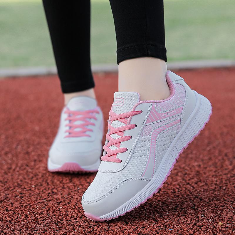Sepatu Wanita Baru Renda Sepatu CORTEZ Nike Korea Modis Gaya Kulit (8183  Hitam atau Merah a8fd3960be