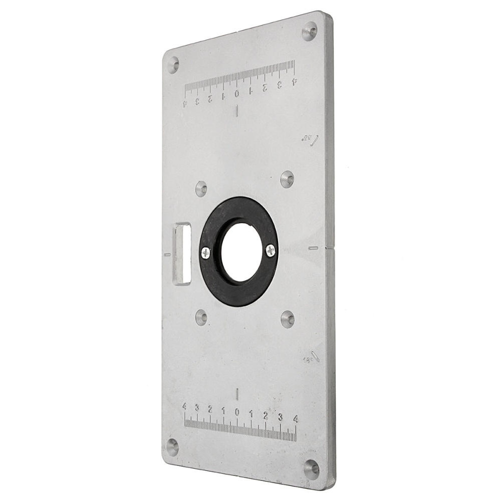Aluminum metal sliver router table insert plate insert rings diy notice 1ease allow 1 3cm error due tomanualmeasurements make sure you do not mind before you bid 2e color may have different as the difference keyboard keysfo Image collections