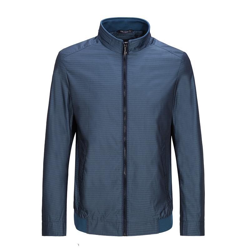 Seven7 jaket Jaket casual kerah berdiri Pria Bisnis