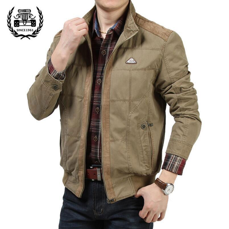 ZHAN DI JI PU men 's thin section of business casual fashion youth jacketKhaki - intl