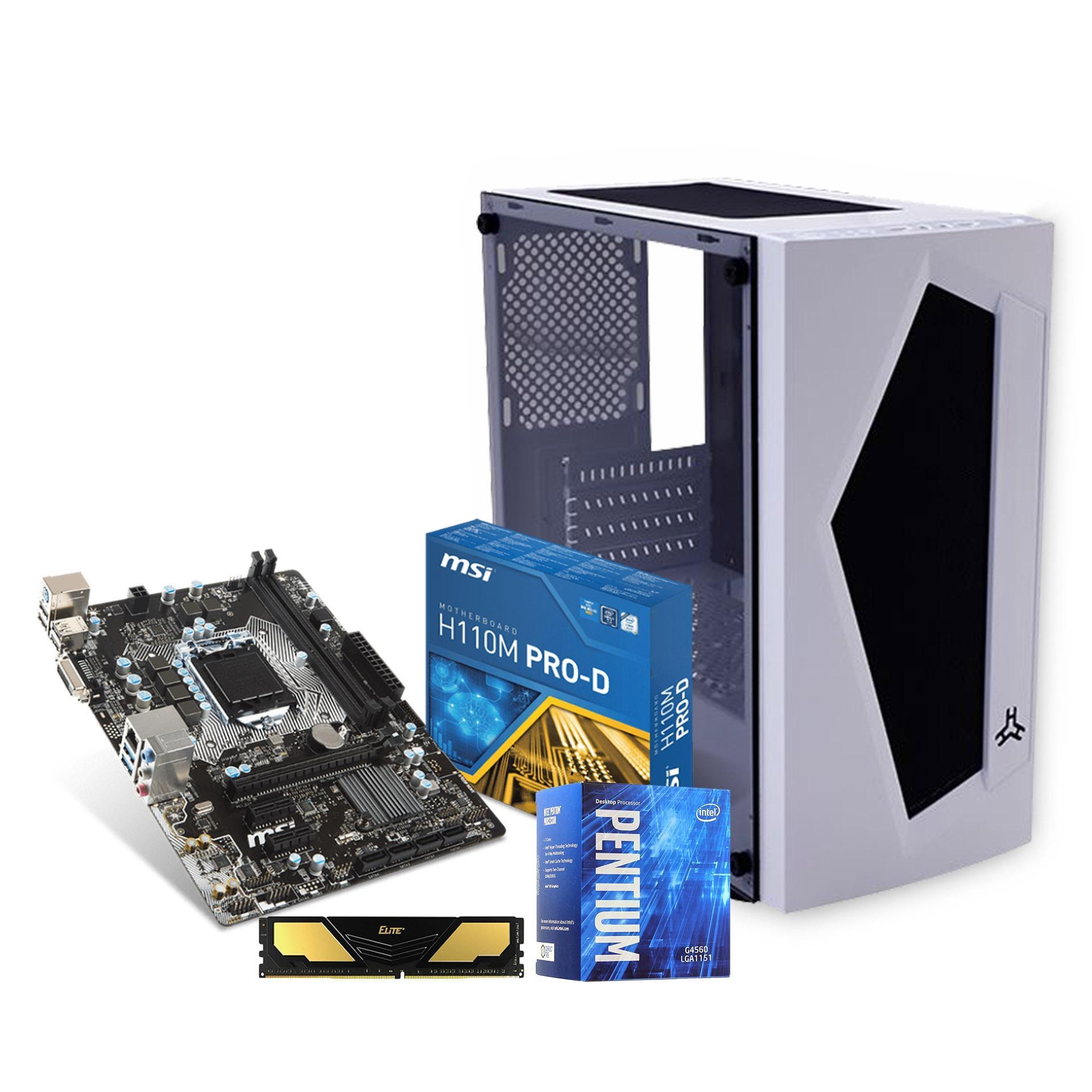 Tech Essentials G4560 Gaming Diskless Bundle Philippines Intel Pentium G4600 36ghz Kabylake Socket 1151