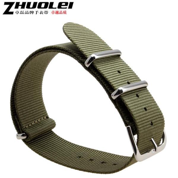 Zhuolei Strap Nylon Watchband Adapted Luminox/Luminox Watch 20 | 22mm Thicken and Lengthen Malaysia