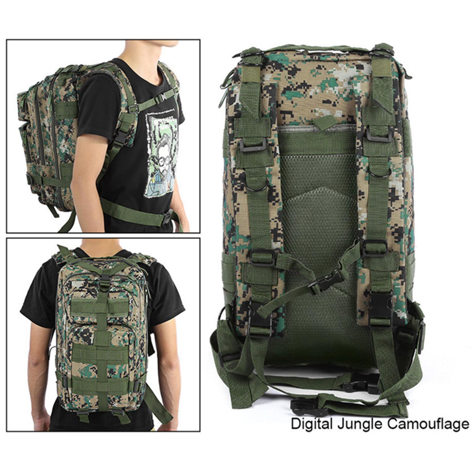 25L Military Bag Army Tactical Outdoor Camping Backpack Oxford for Cycling  Hiking Sports Climbing Bag 2c5c1ba8a5a2f