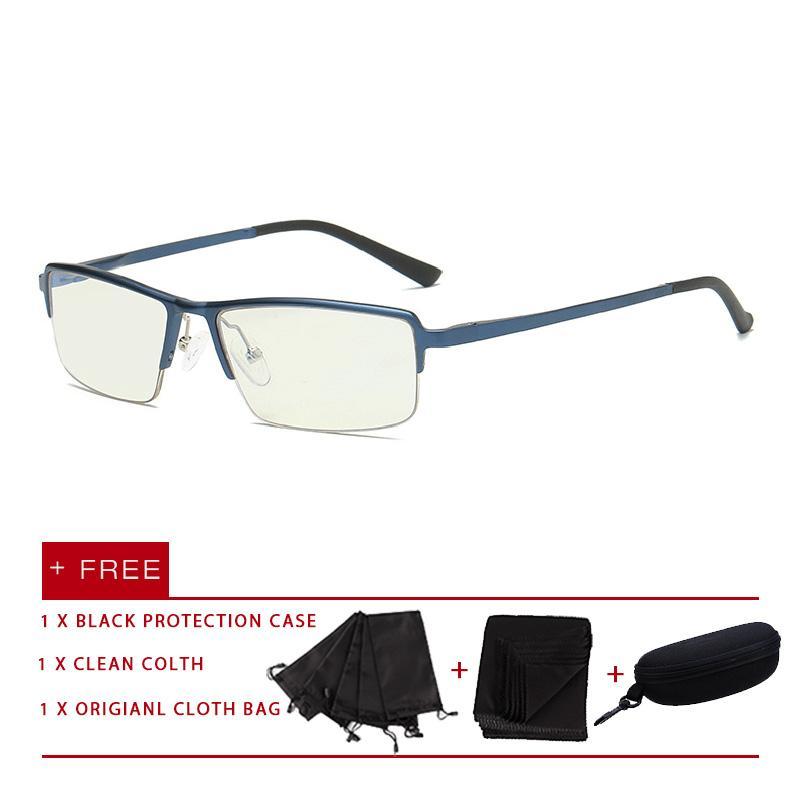 4712102c09 2018 New fashion men women eyewear eyeglasses aluminum magnesium Anti Blue  Light Glasses UV Spectacles flat