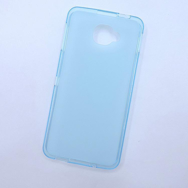 1 Pc/lot Case for Alcatel idol Z mini S 6036A/Y/X TPU Gel Back Cover For Alcatel idol Z mini S 6036A/Y/X Case Pudding Silicone Soft Phone Funda Transparent Blue