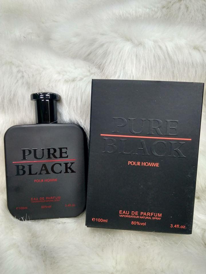 Pure Black Eau Homme De Pour Parfum wPO8nk0